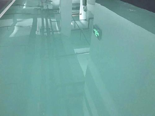 水性环氧地坪漆的施工过程需要注意的问题